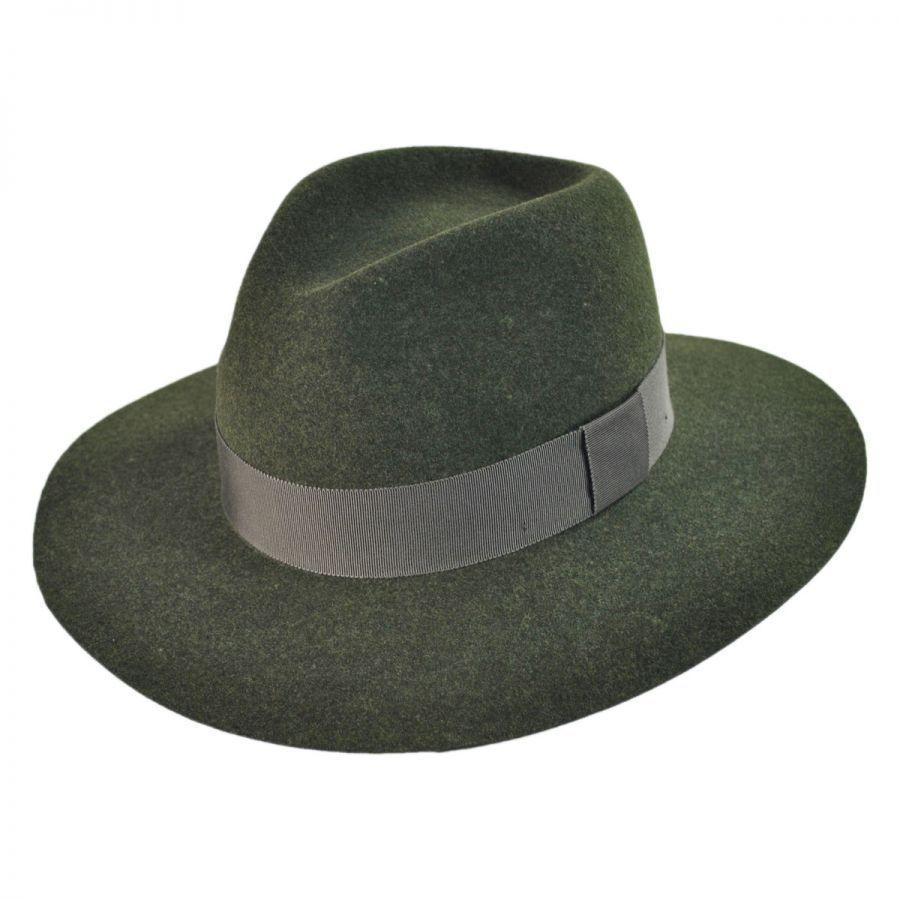 d2d80d49df8445 Pantropic Taylor Wool LiteFelt Fedora Hat Crushable