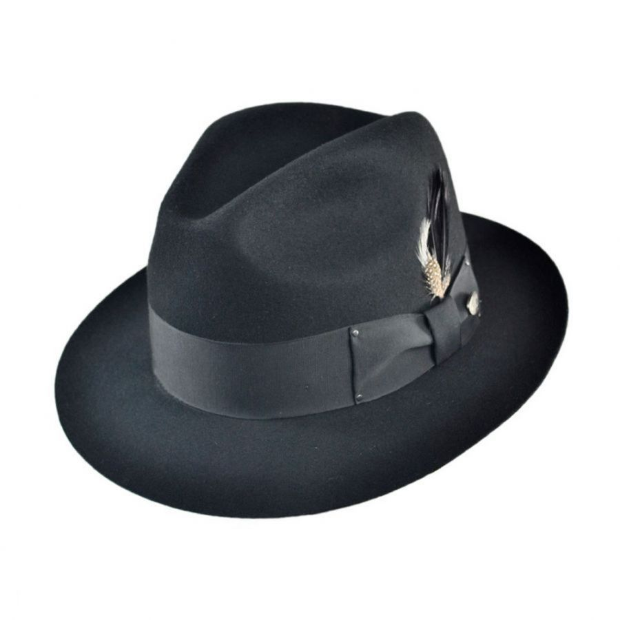 f6433ec33be75 Gangster Fedora Hat alternate view 5 · Bailey