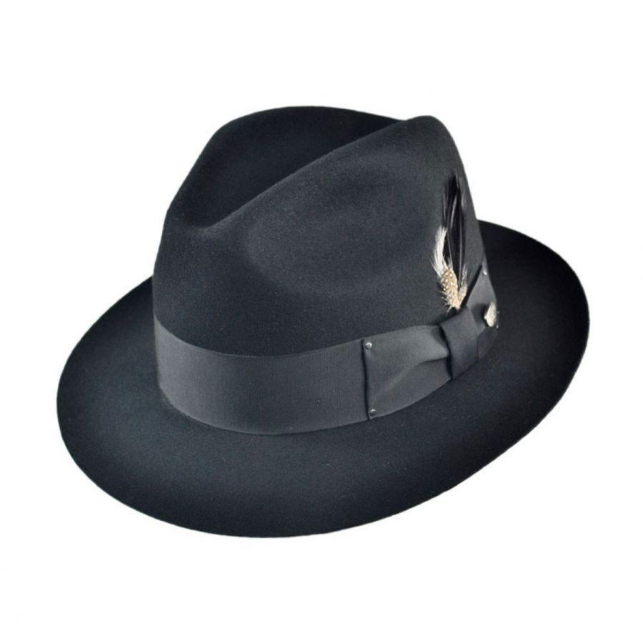 7c31ae1401620 Bailey Gangster Fedora Hat All Fedoras