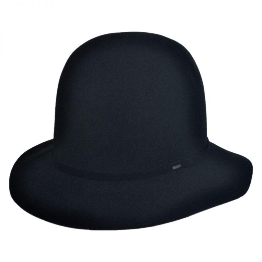 Antone Fur Felt Open Crown Fedora Hat alternate view 1 dea581bb90b