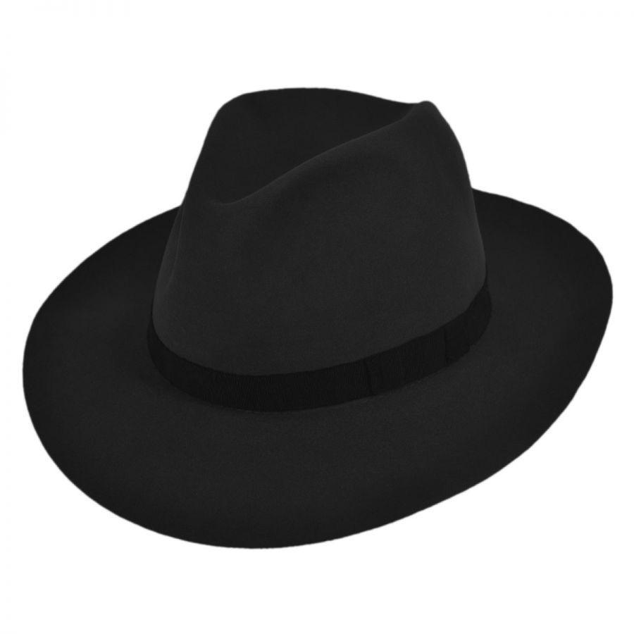 Bailey Noble Fur Felt Fedora Hat Fur Felt 9cf613aa810