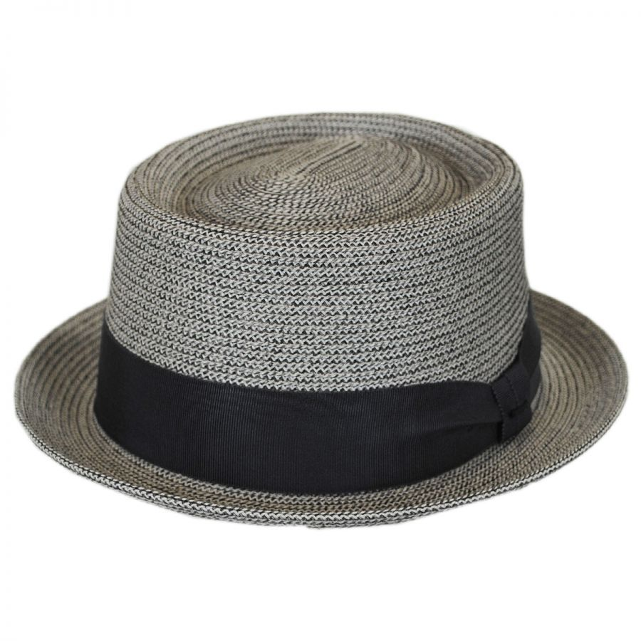 Bailey Waits Sewn Braid Straw Pork Pie Hat Pork Pie Hats d0aa0958982
