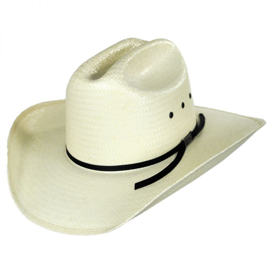 bca93e916da9 Eddy Bros Kids' Alamo Jr Toyo Straw Western Hat Boys
