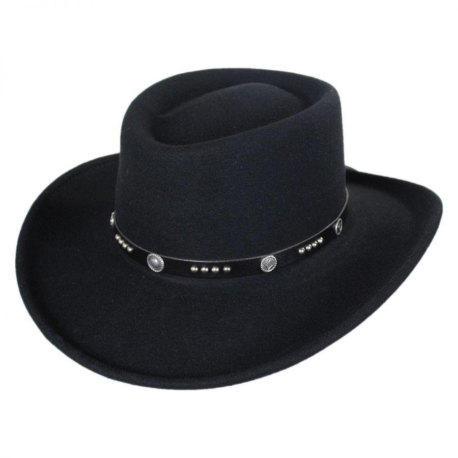 Renegade Joker LiteFelt Wool Gambler Western Hat Western Hats 90bbb52b29d5