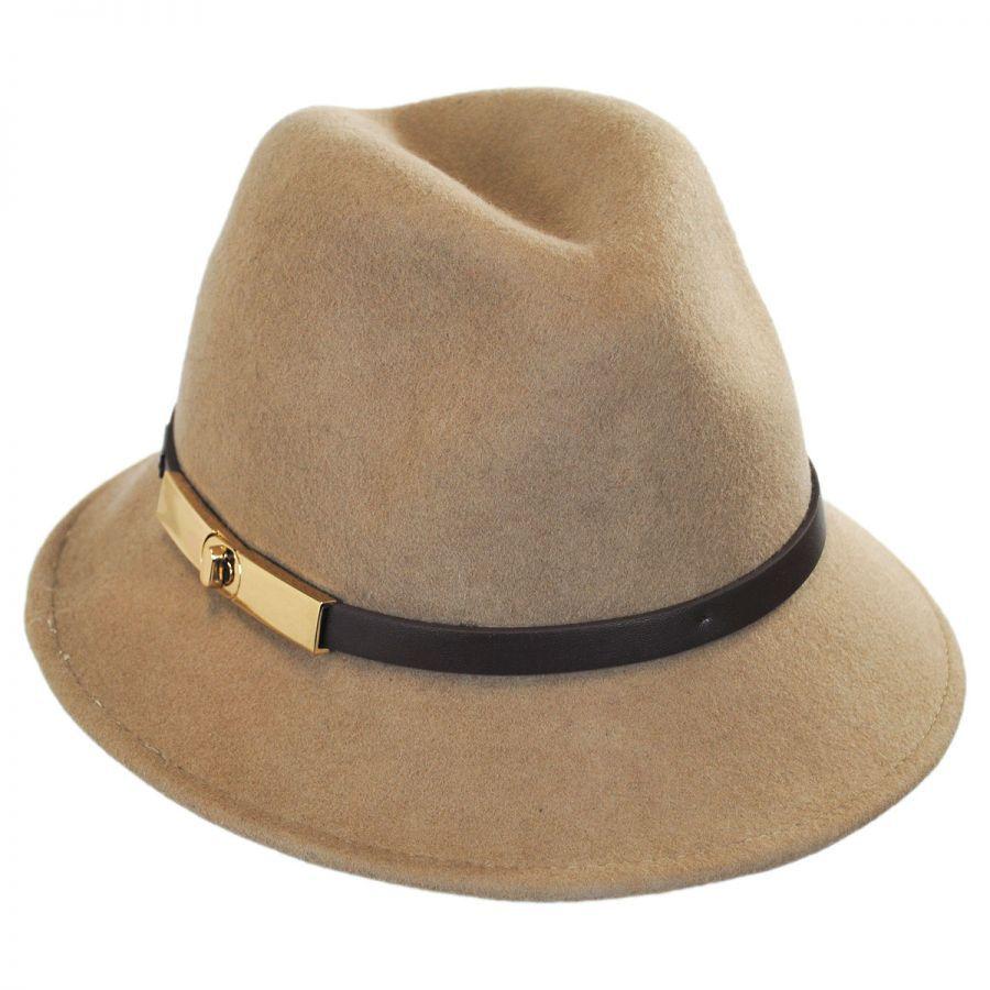 Betmar Darcy Wool Felt Fedora Hat Fedoras 9c7f3653b