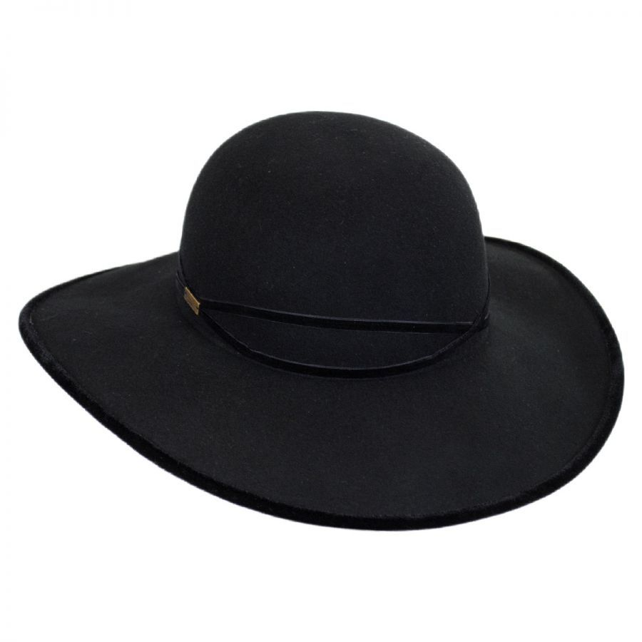 b8c6187d05329 Betmar Marseille Velvet and Wool Felt Swinger Hat Casual Hats