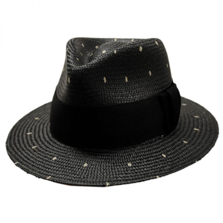 6a7ef6fb3d4 Bailey Tor Panama Straw Tear Drop Fedora Hat Panama Hats