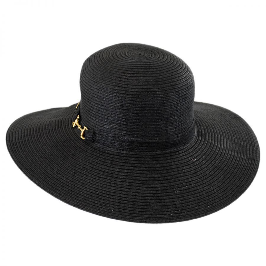 Selena Toyo Straw Floppy Sun Hat alternate view 1 56656a9d25a