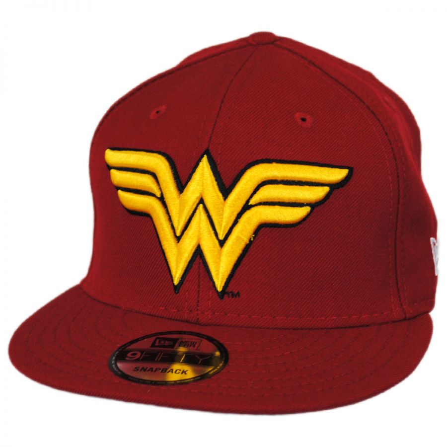 DC Comics Wonder Woman 9FIFTY Snapback Baseball Cap alternate view 1 13c6aeae112