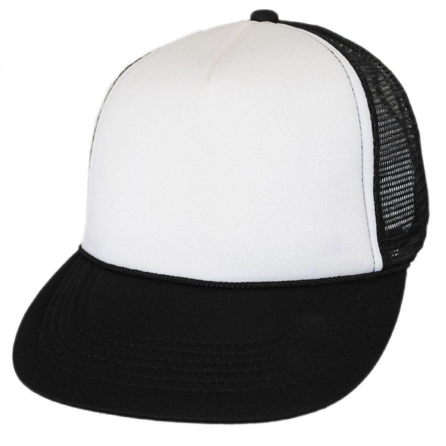 d3d72ba0332 KC Caps Foam and Mesh Trucker Snapback Baseball Cap Blank Baseball Caps
