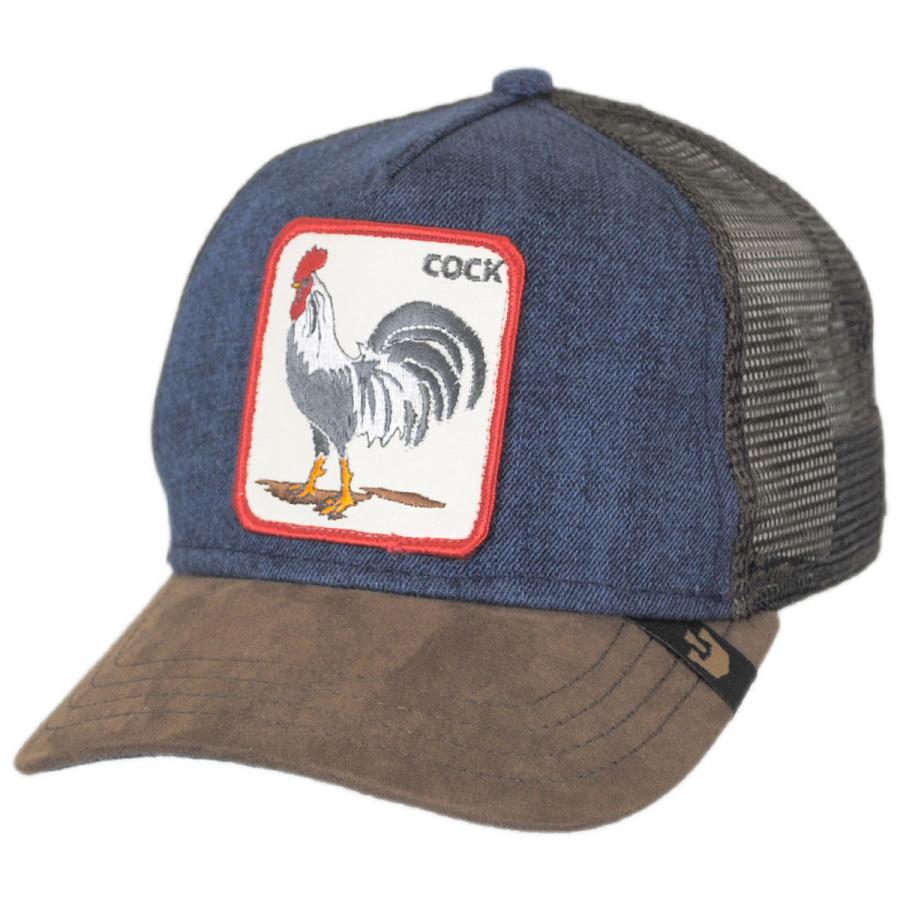 Goorin Bros Big Strut Mesh Trucker Snapback Baseball Cap Snapback Hats 6c156bb0ab7