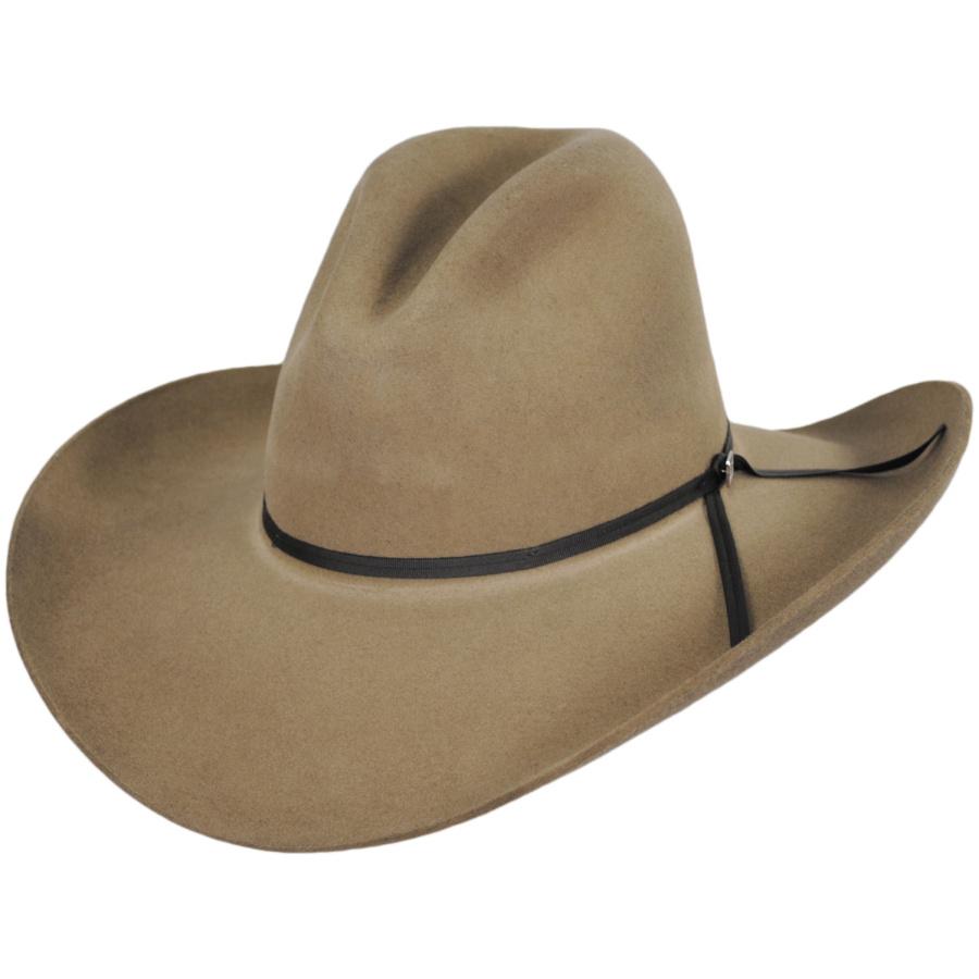 Resistol John Wayne Peacemaker Wool Felt Western Hat Western Hats eeb9911da26