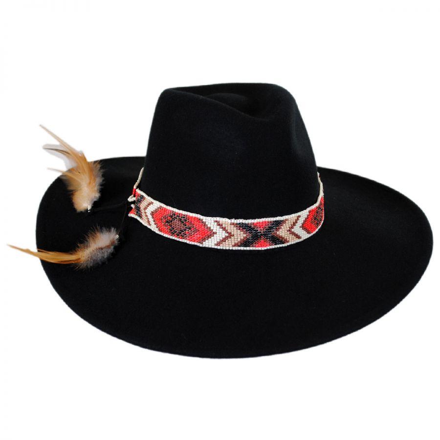 b8ae3c9530dcb Brooklyn Hat Co Laurent Wool Felt Wide Brim Fedora Hat Fedoras