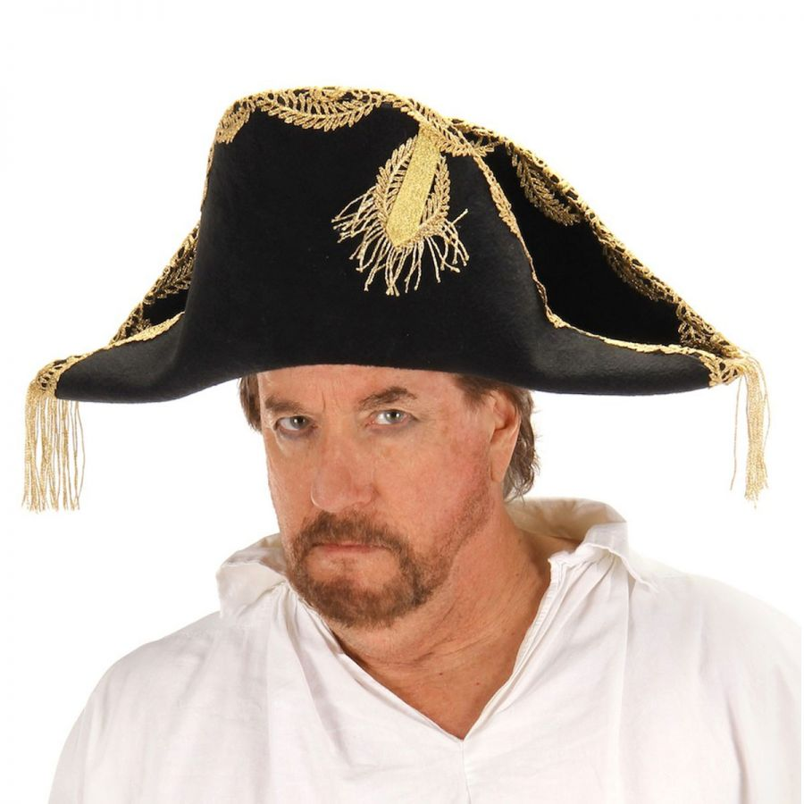 Bicorn Hat: Elope Pirates Of The Caribbean Barbossa Bicorn Hat All