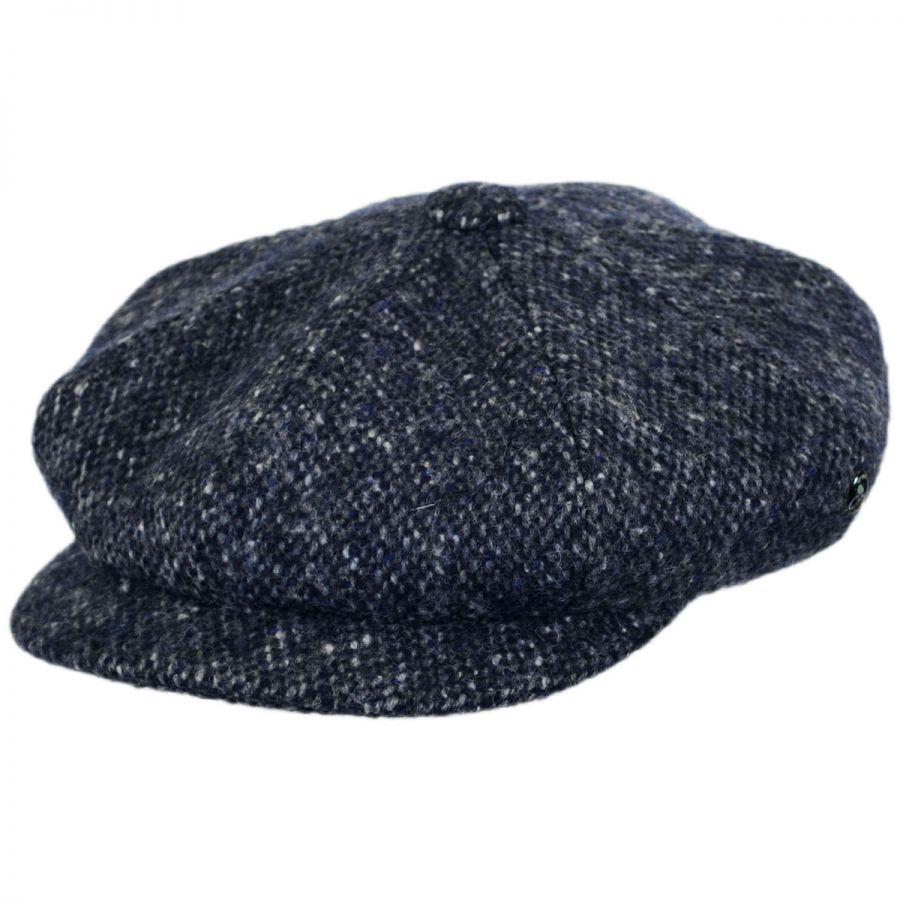 90782125c33 City Sport Caps Marl Donegal Tweed Wool Newsboy Cap Newsboy Caps