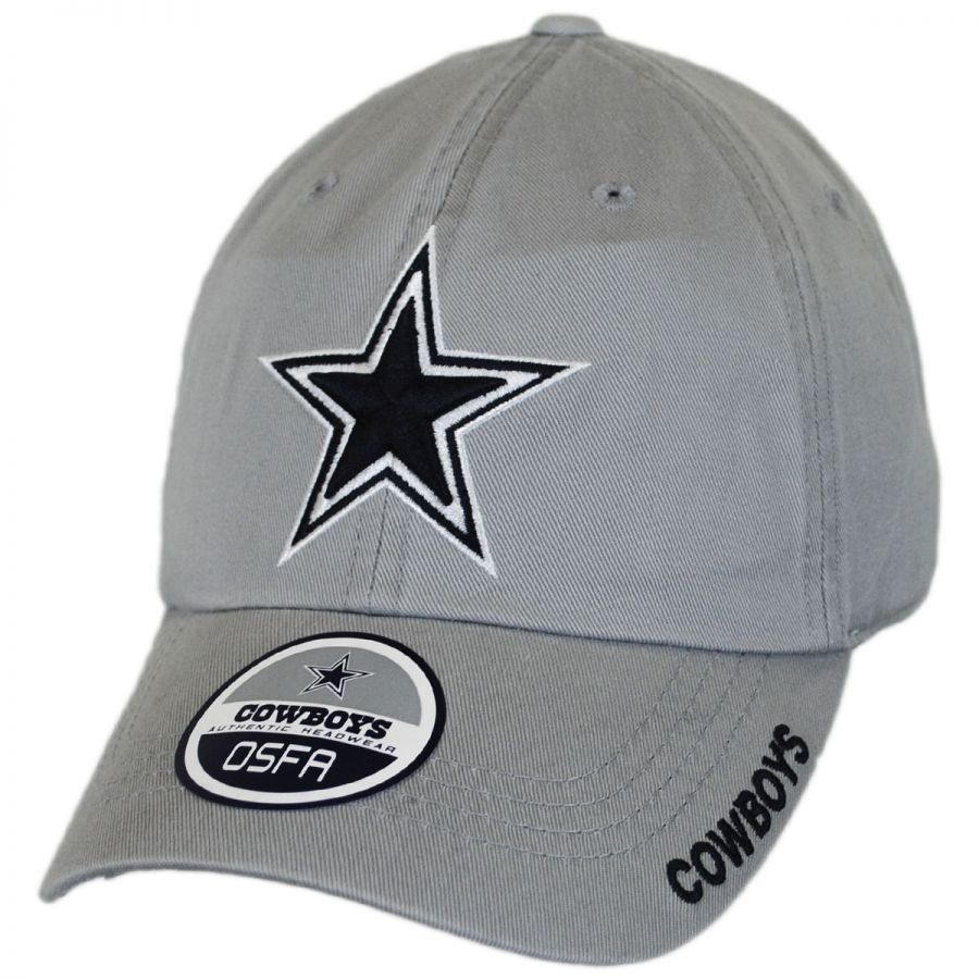 low priced 80946 64342 Dallas Cowboys NFL Slouch Strapback Baseball Cap Dad Hat alternate view 1