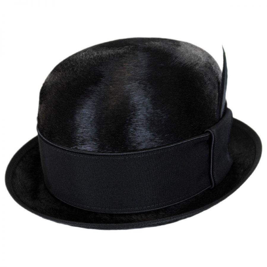 9f381d2875b Bailey Palance Brushed Fur Felt Bowler Hat Derby   Bowler Hats