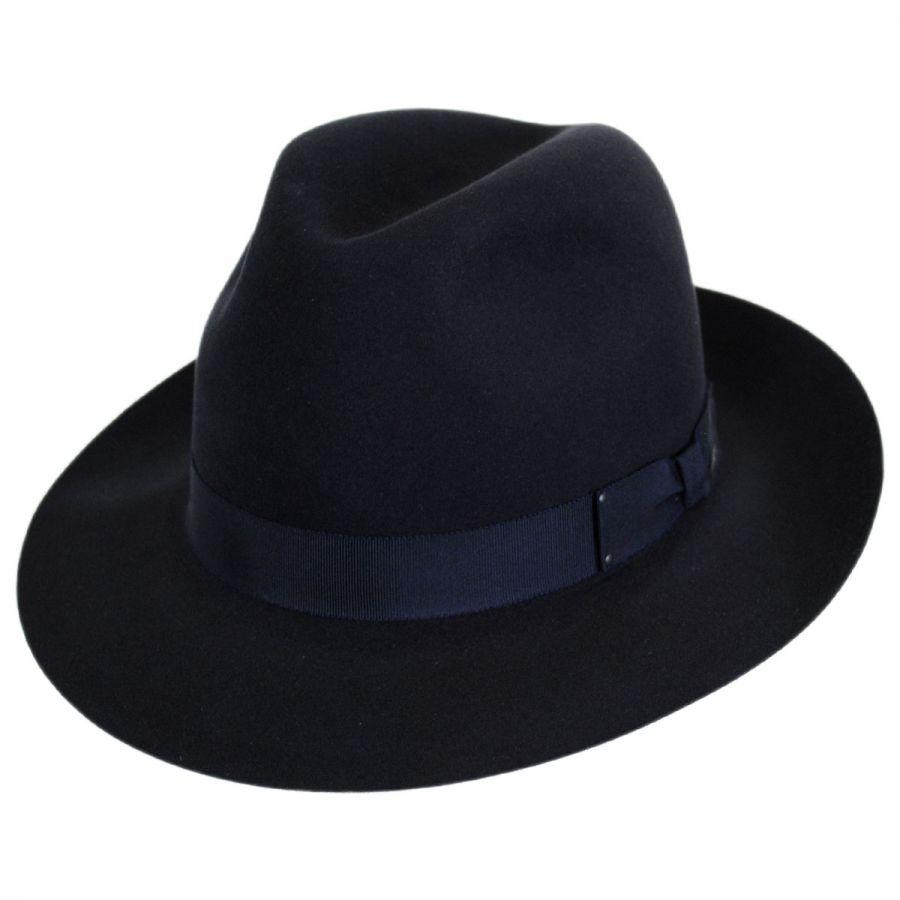 312a9f97e3a Bailey Draper III Fur Felt Fedora Hat Fur Felt