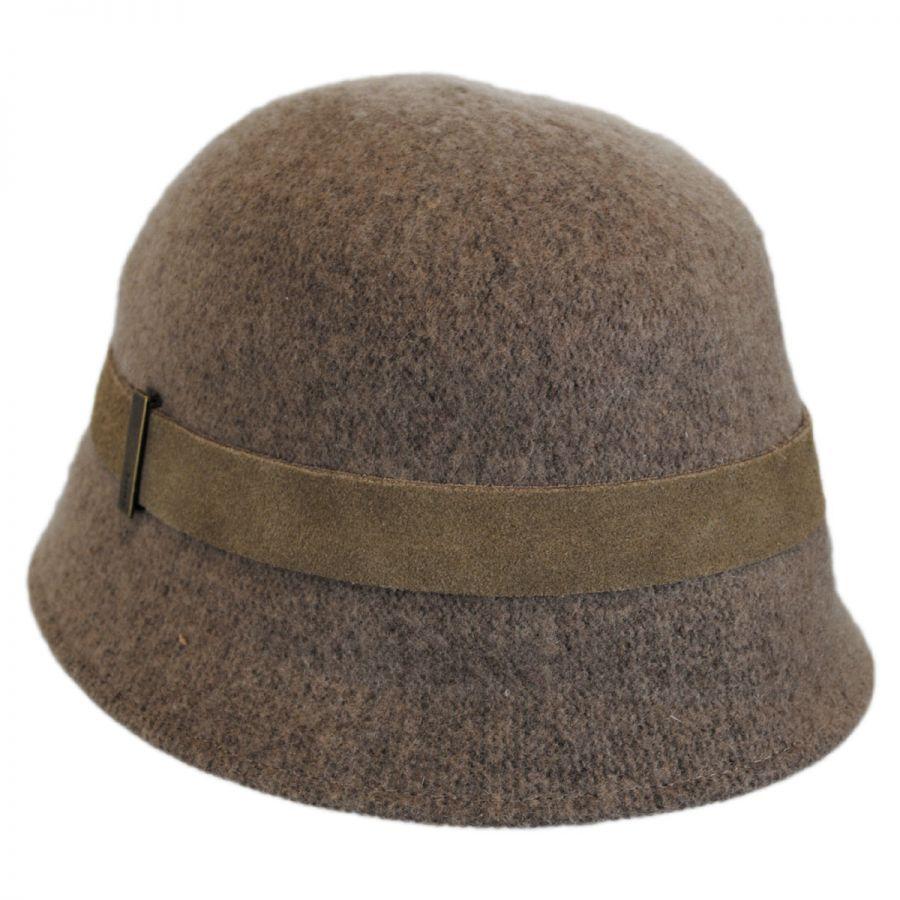 Betmar Kensie Wool Cloche Hat Cloche & Flapper Hats