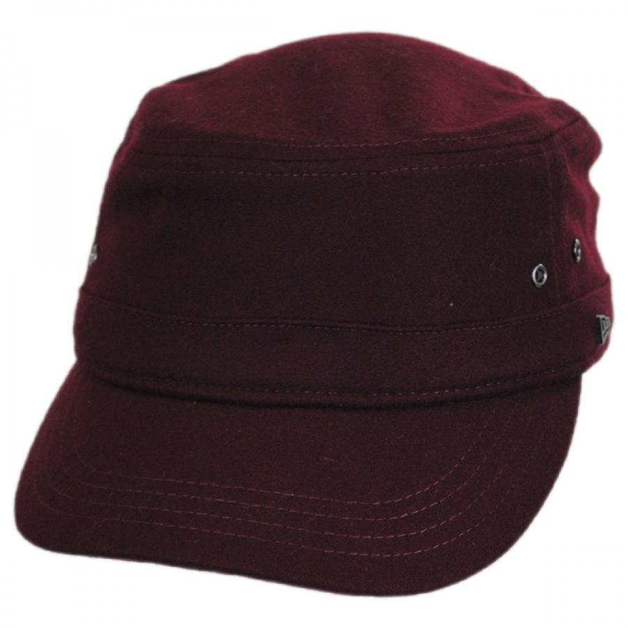 Essential Wool Blend Military Cadet Cap