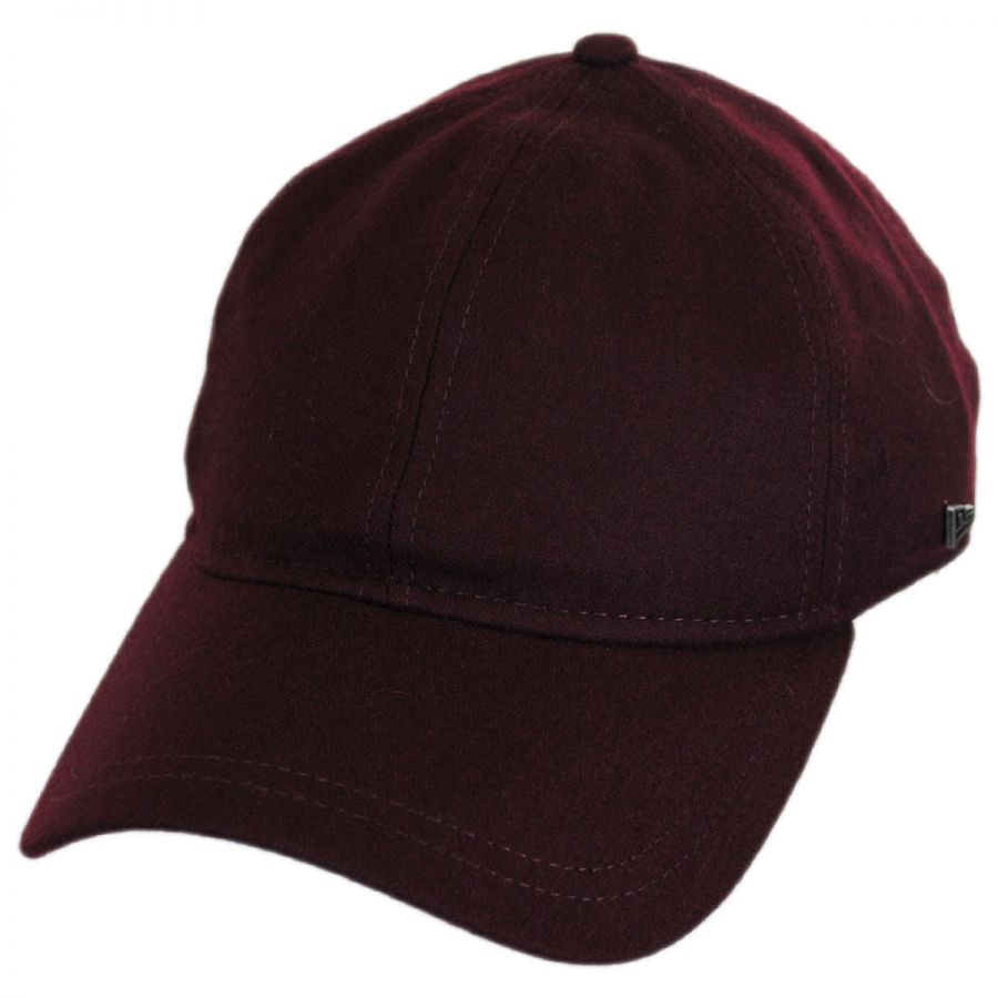 e87c63fd6d06de EK Collection by New Era Essential Wool Blend 9TWENTY Strapback Baseball Cap  Dad Hat