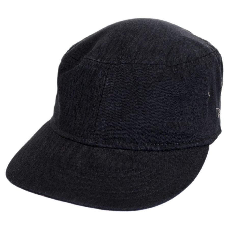 EK Collection by New Era Packable Cotton Military Cadet Strapback ... 109f5a494a5