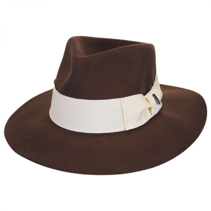 Brooklyn Hat Co Marseille Wool Felt Fedora Hat Crushable ccbe79b38