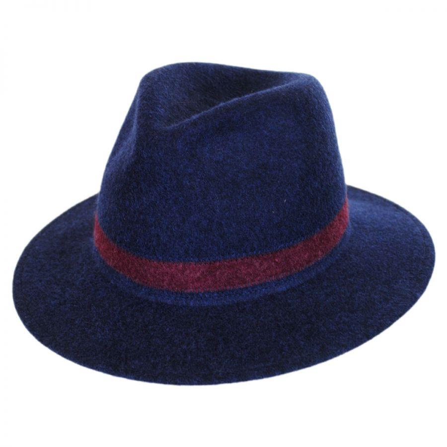 Brooklyn Hat Co Avignon Wool Felt Fedora Hat Fedoras 27e03195e4c