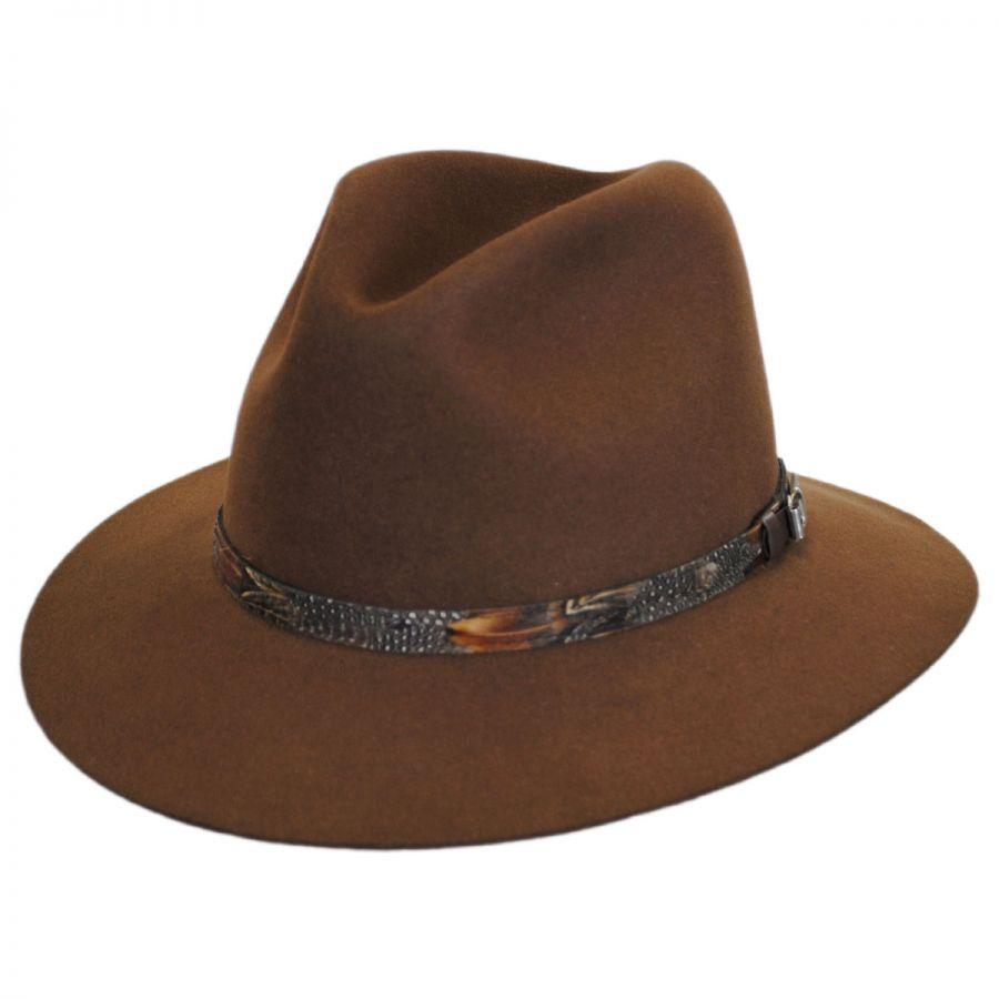 Stetson Weekend Safari Fedora Hat Fur Felt 72073b5d35d7