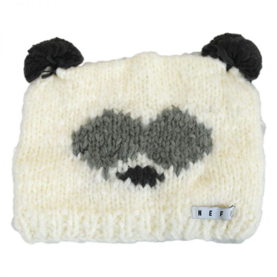 Panda Knit Beanie Hat alternate view 1 cc0ba831fc9