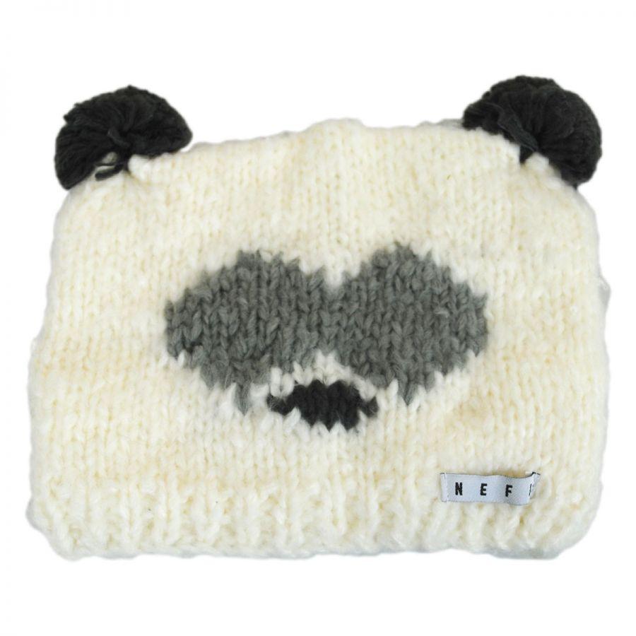 Panda Knit Beanie Hat alternate view 1 708cdd057b4