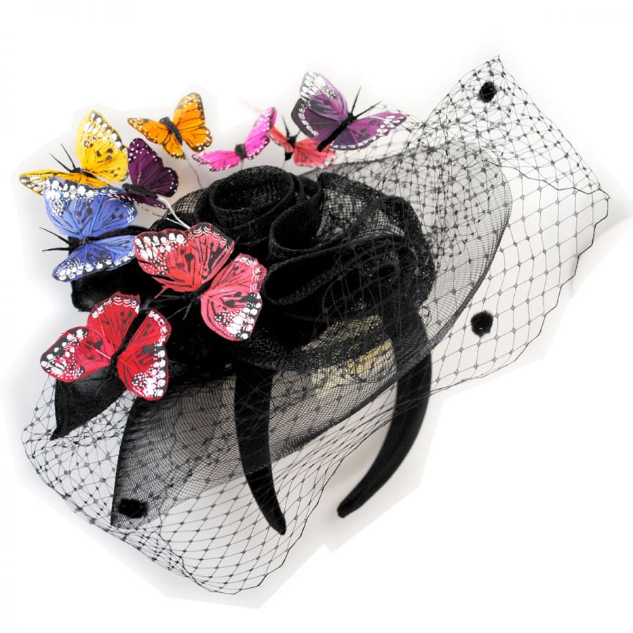 Toucan Collection Butterfly Fascinator Headband Fascinators   Headbands 475d03c25d4