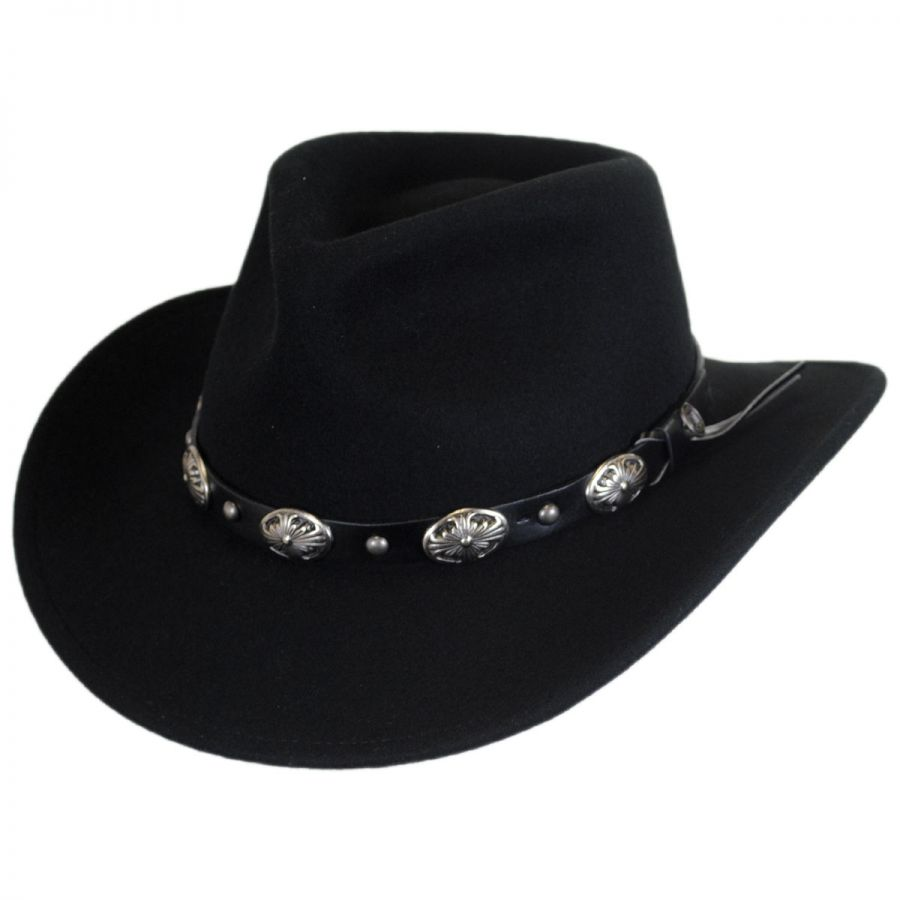 7208c77d541 Jaxon Hats Tombstone Wool Felt Cowboy Hat Western Hats