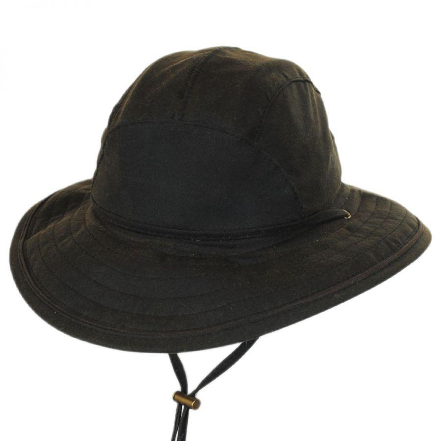 Woolrich Waxed Cotton Boonie Hat Rain Hats