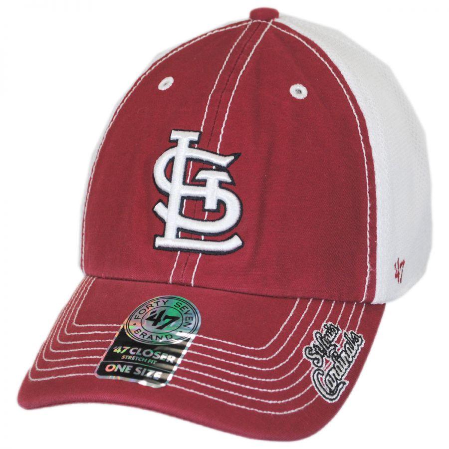 47 Brand St. Louis Cardinals MLB Ripley Fitted Baseball Cap MLB ... 95250b93300