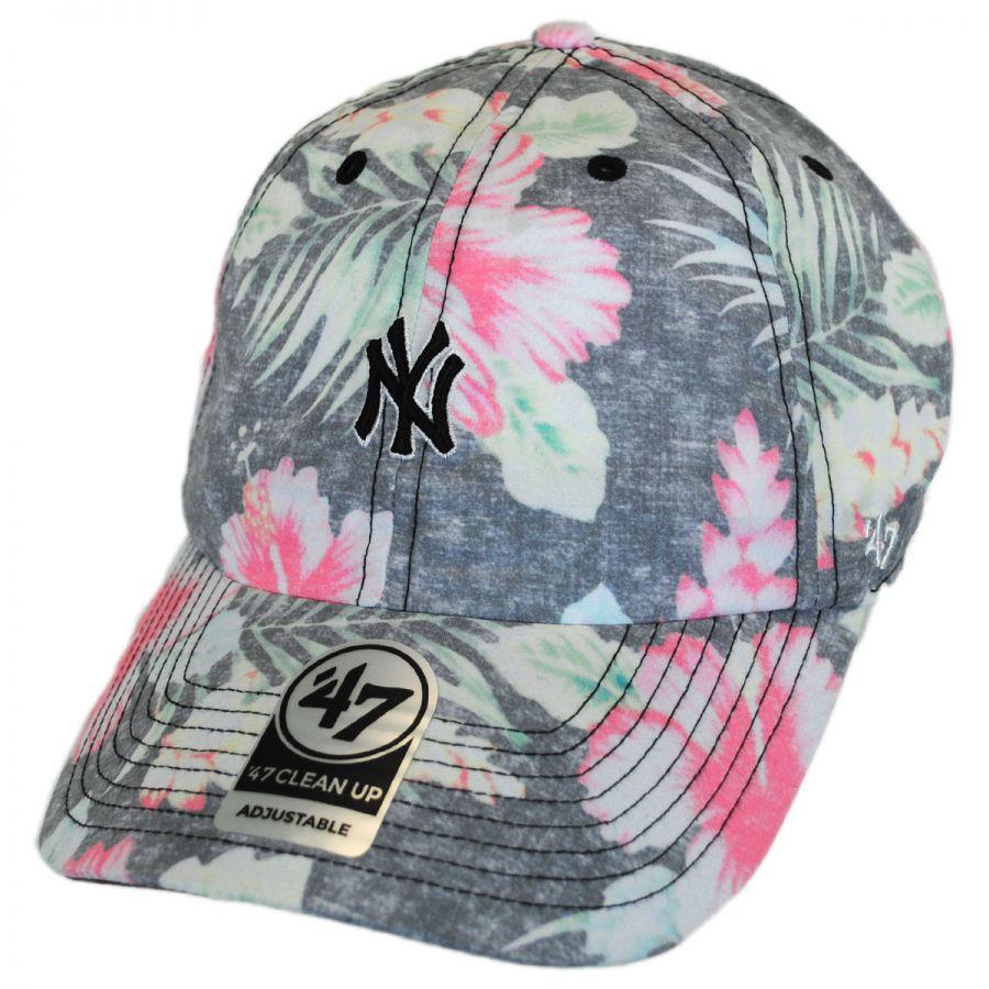 47 New York Yankees Strapback Brand Clean up Adjustable Cap Hat