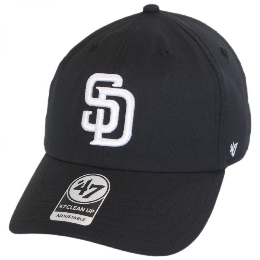 7851883f9 San Diego Padres MLB Trackster Clean Up Adjustable Baseball Cap
