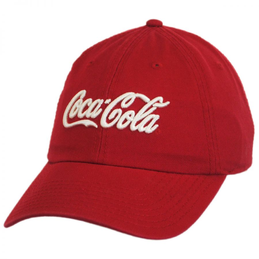 American Needle Coca-Cola Washed LoPro Strapback Baseball Cap Dad ... e06be78269f