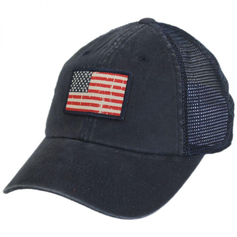 American Needle United States Flag Badger Trucker Snapback Baseball ... cc04057b75c