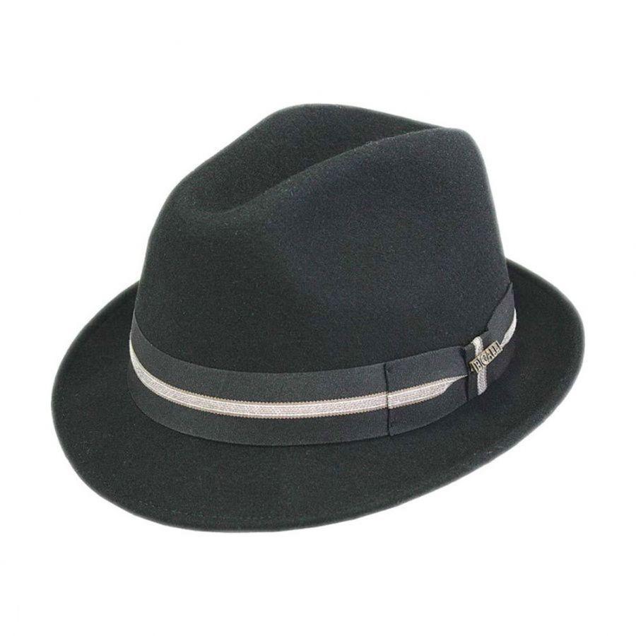 f9022b39179 Bigalli California Stingy Brim Fedora Hat Stingy Brim   Trilby