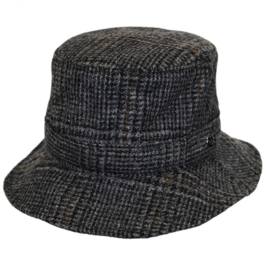 Hills Hats of New Zealand Lincolnshire Check English Tweed ...