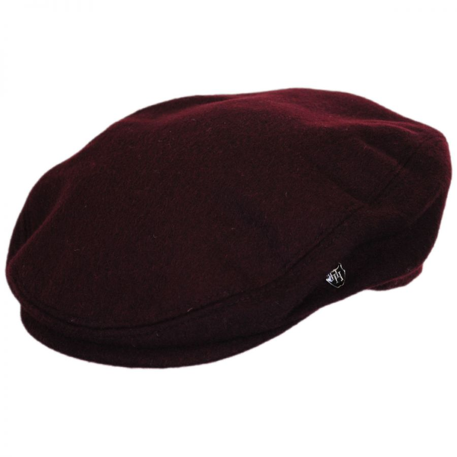 Hills Hats Of New Zealand Cheesecutter Wool And Cashmere