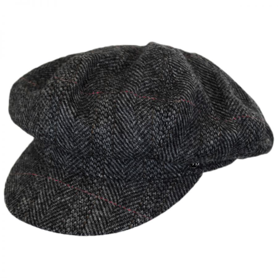 Hills Hats of New Zealand Oxford Herringbone English Tweed Wool ... c5daae733b9