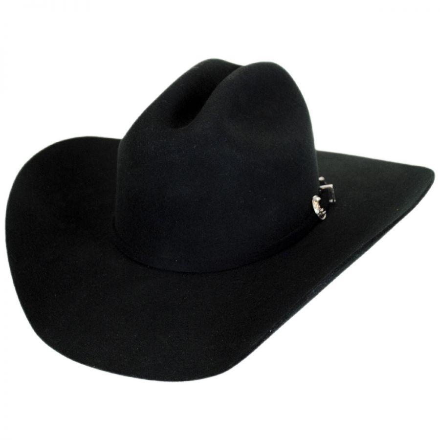 Justin Hats Rodeo 3X Wool Felt Cattleman Western Hat Western Hats 50c3fc522e7