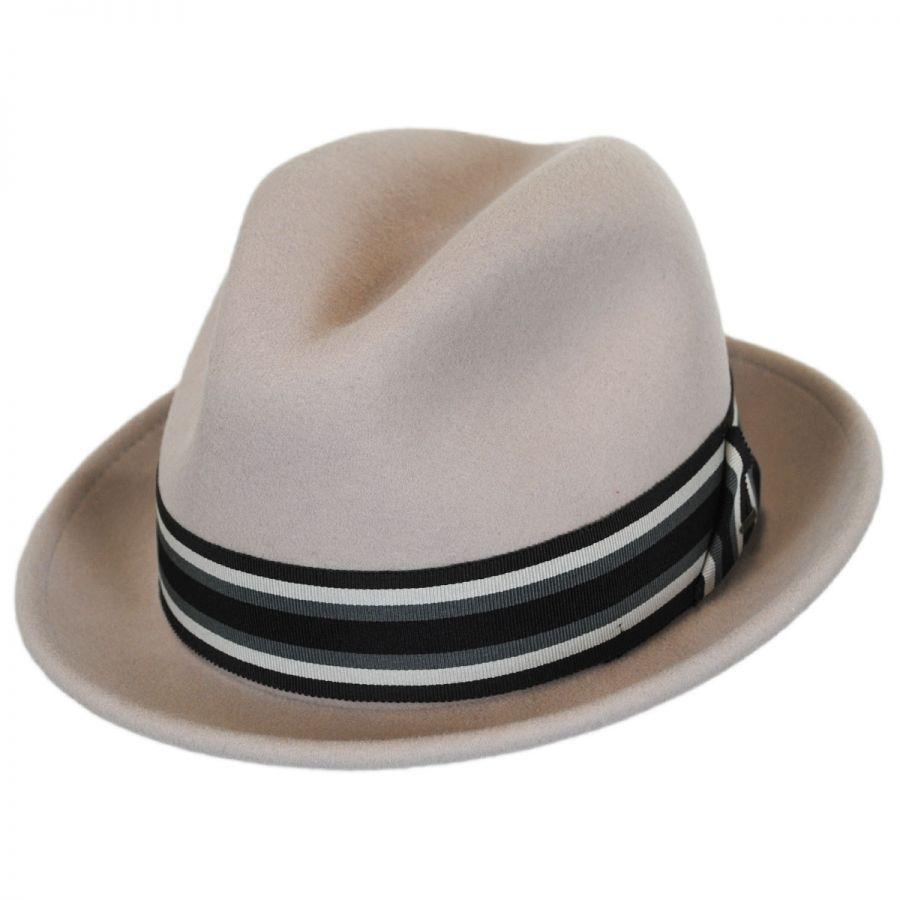 Bailey Goldring Wool LiteFelt Trilby Fedora Hat Stingy Brim   Trilby 4e103c81cab