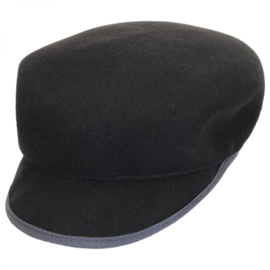 ad0490dc845 Kangol Mau Buckle Wool LiteFelt Cap Cadet Caps