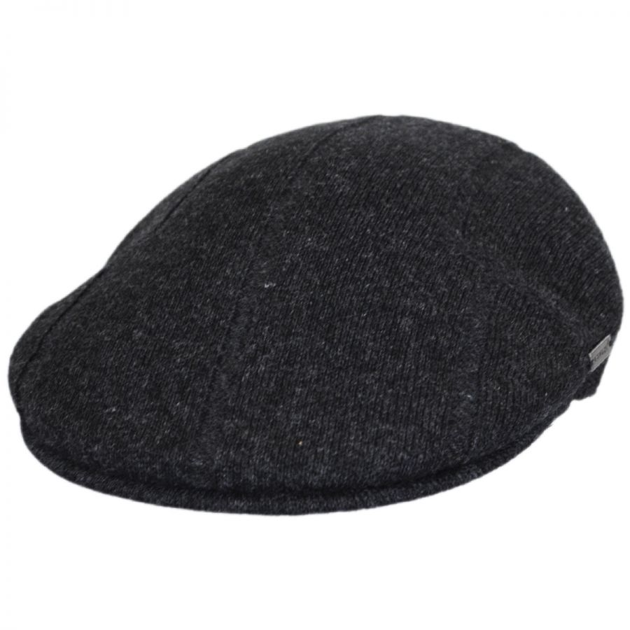 Mens Classic Kangol Wool 504-S Ivy Cap Color Flannel Mix//Safety