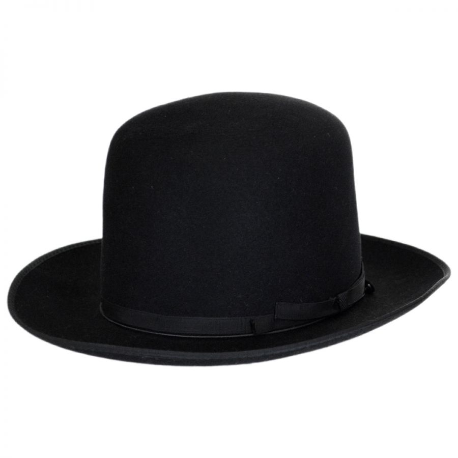 f6351bc3d6853f Borsalino Borsalino - F.A.B. Fur Felt Shapeable Open Crown Fedora Hat