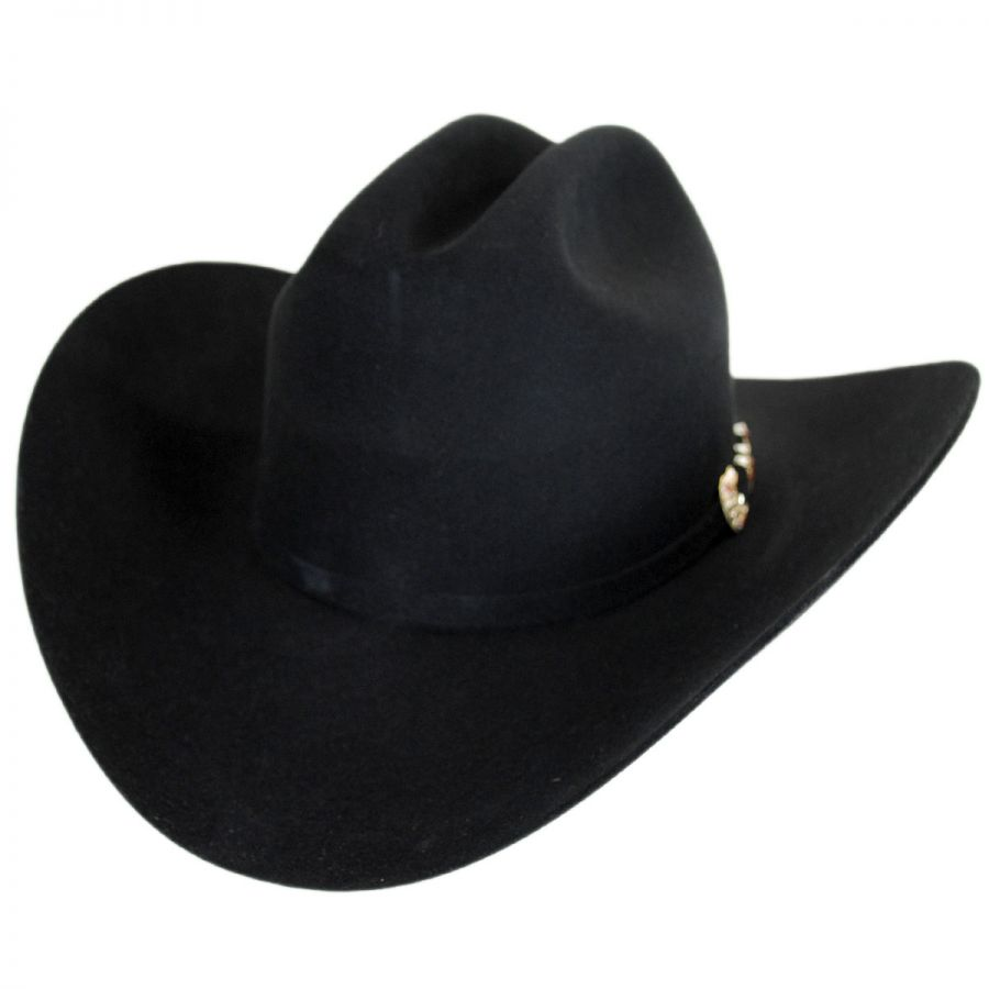 Larry Mahan Hats Tucson 10X Fur Felt Cattleman Western Hat - Made to ... 42fa0172c3d