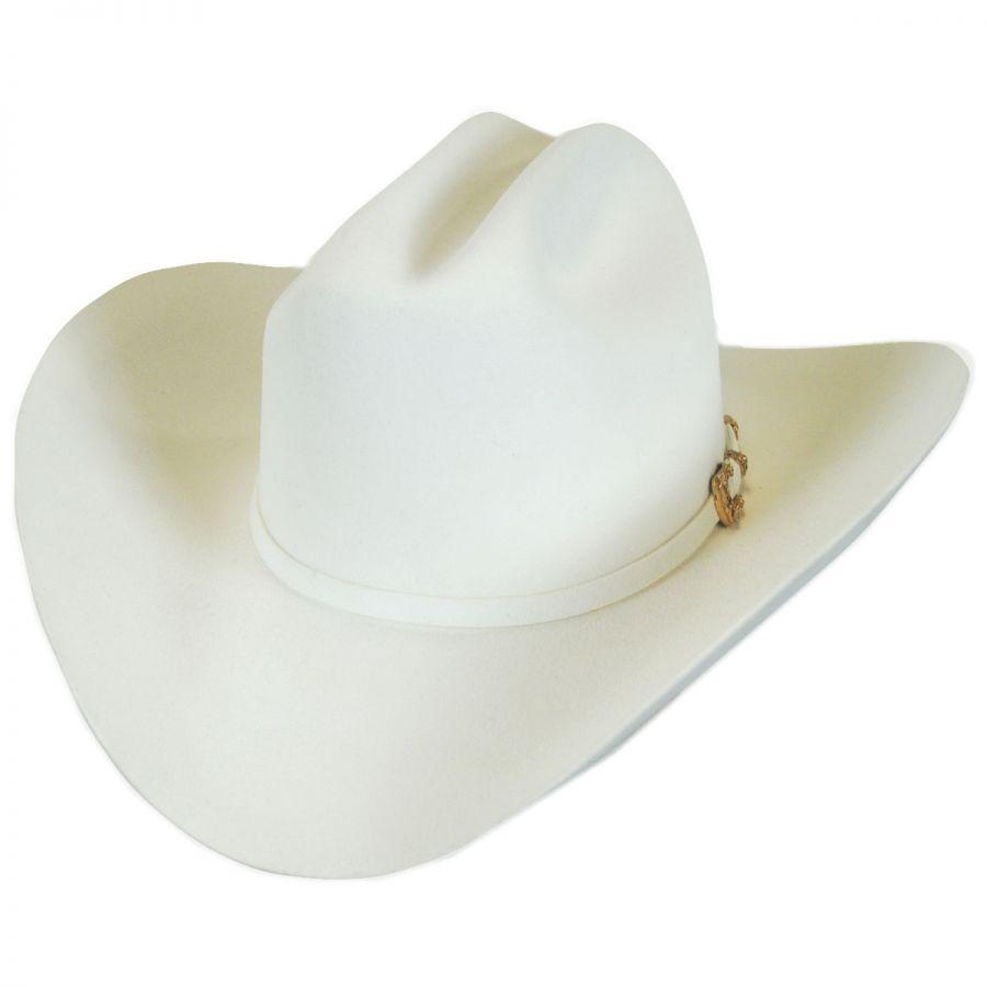 25bd1958148ec Larry Mahan Hats Opulento 30X Fur Felt Cattleman Western Hat - Made ...